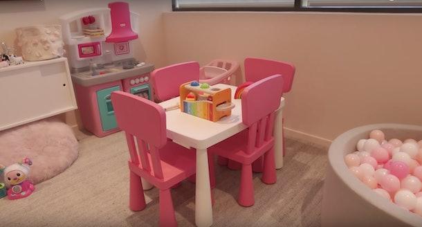 Kylie Jenner's Photos Of Stormi's Playroom