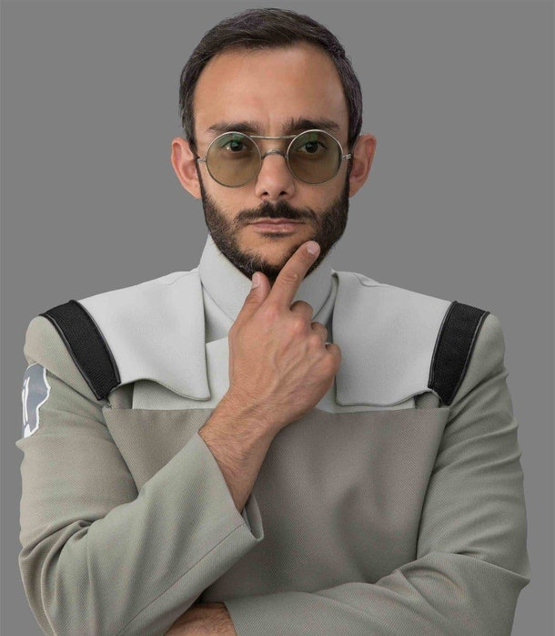 Dr. Pershing in The Mandalorian