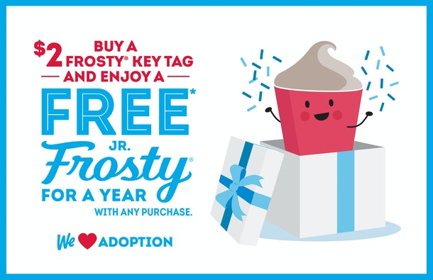 Wendy's $2 Key Tag will get you free Frostys for a year.