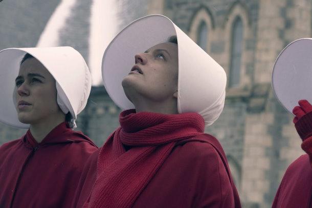 Elisabeth Moss on 'The Handmaid's Tale'  on Hulu