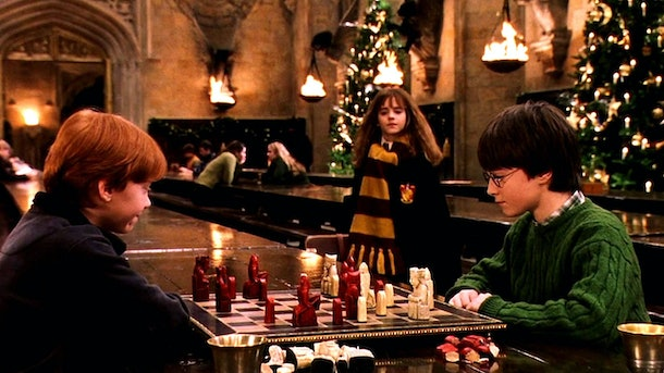living chess in 'Harry Potter'