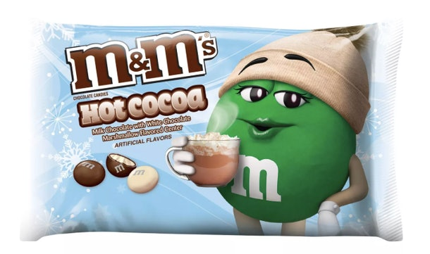 Target's holiday food and drink offerings include Hot Cocoa M&M's.