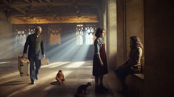 Dafne Keene and Ruth Wilson in His Dark Materials