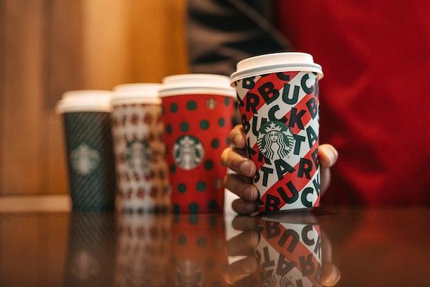 Starbucks' holiday drinks are coming back Nov. 7.
