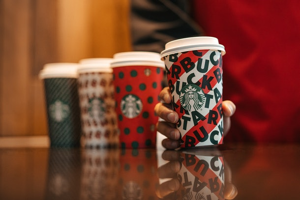 Starbucks' holiday drinks are coming back Nov. 7.