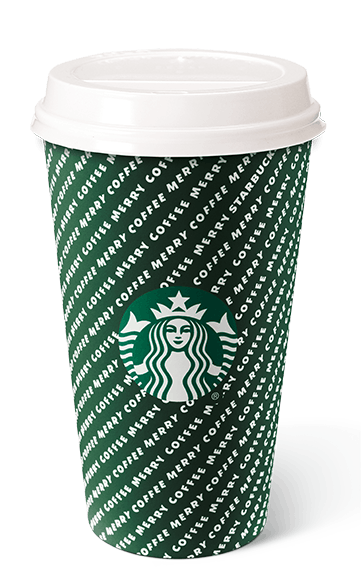 The Merry Stripes holiday cup from Starbucks is one of four new holiday cups at Starbucks.