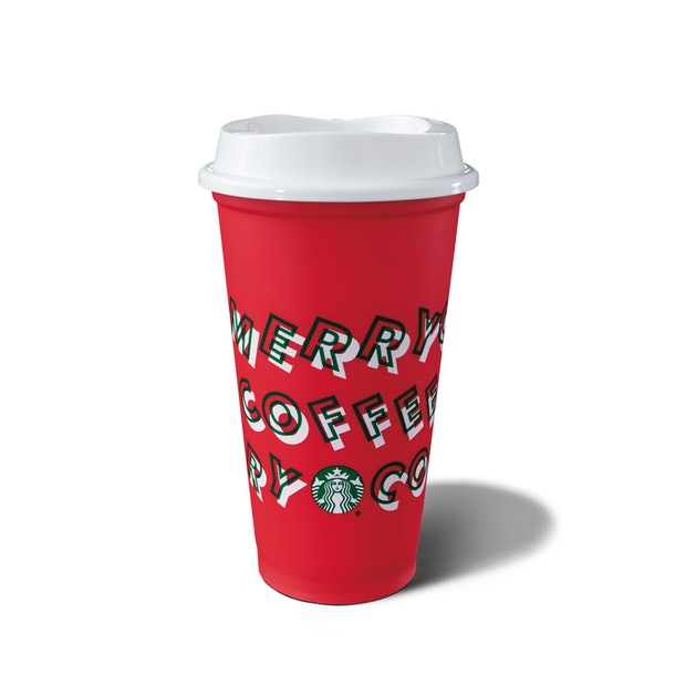 You can get a free reusable red cup from Starbucks.