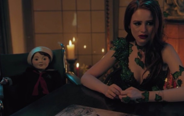 "Cheryl and ""Julian"" the doll"
