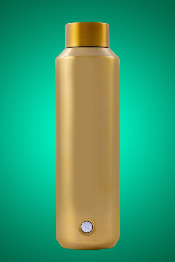 The Starbucks Holiday line includes a Starbucks Gold Water Bottle.