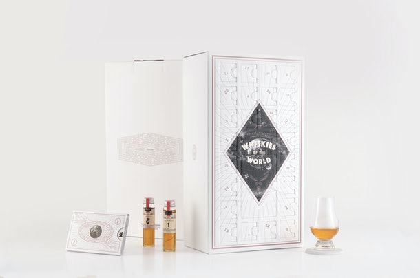 The Flaviar Spirits of The World Advent calendar is available for presale, so get ready for 24 days of boozy samples.