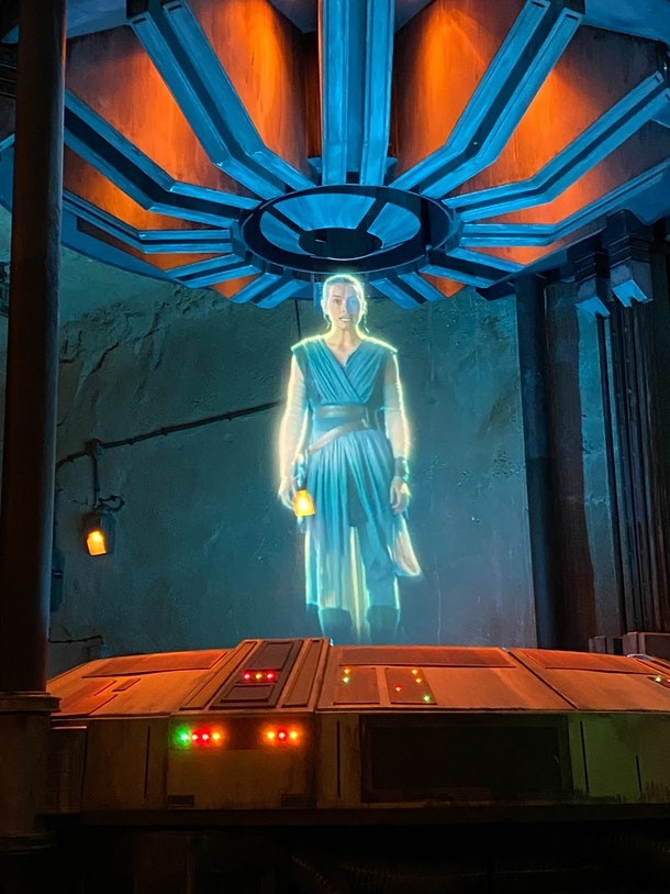 Disney's Rise of the Resistance ride is longer than your average coaster.