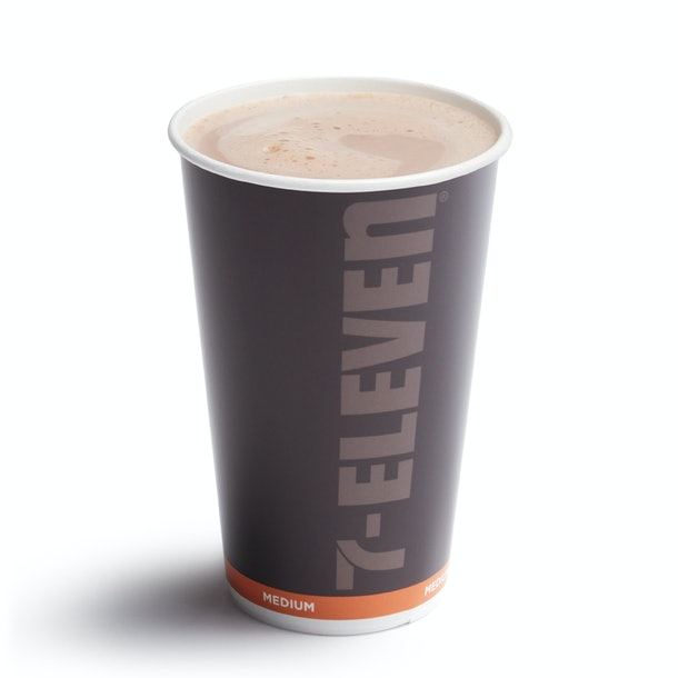 7-Eleven's $1 Coffee Deal For December 2019 includes any sized hot coffee, including lattes.