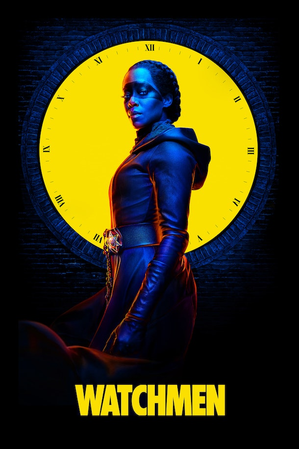 The 'Watchmen' poster seemingly reveals that Angela Abar did become Dr. Manhattan in the finale.