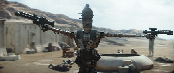 IG-11 in The Mandalorian