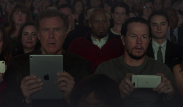 Brad (Will Ferrel) and Dusty (Mark Wahlberg) navigate the holidays in 'Daddy's Home 2' available on Hulu in 2019