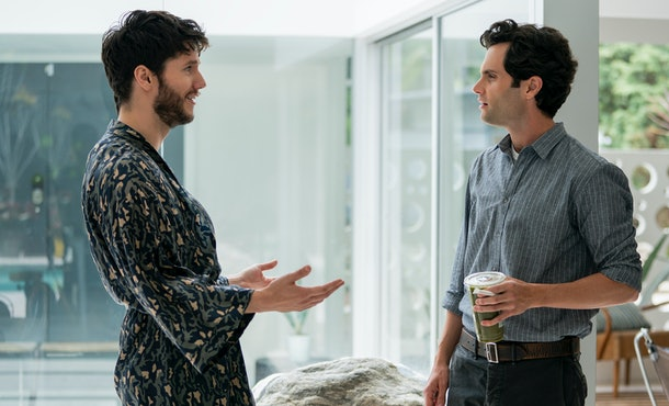 Forty realizes the truth about Joe too late in Season 2 of 'You.'