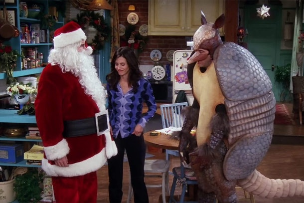 The Holiday Armadillo on 'Friends'