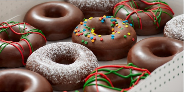 Krispy Kreme's Holiday 2019 doughnuts are available in so many flavors.