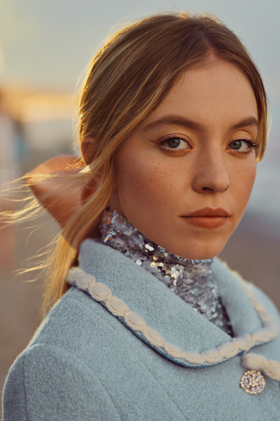 'Euphoria' star Sydney Sweeney for Elite Daily's Like Magic 2019 issue.