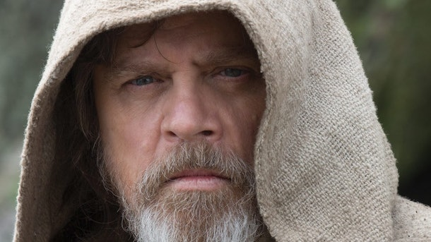 Luke in Last Jedi