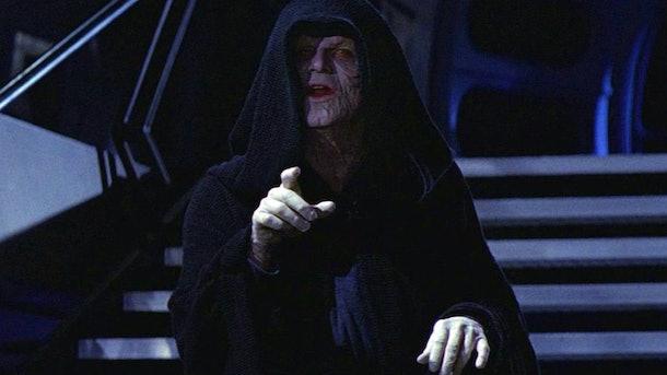 Emperor Palpatine in Star Wars
