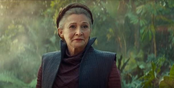 Leia in Rise of Skywalker