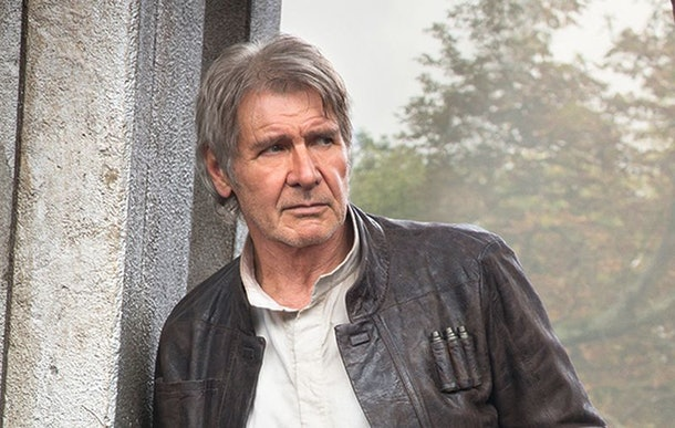 Harrison Ford in Fore Awakens