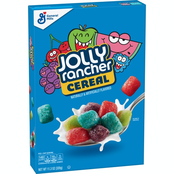 General Mills' Jolly Rancher Cereal Is Coming In 2020, but a few of you may find it in stores now.