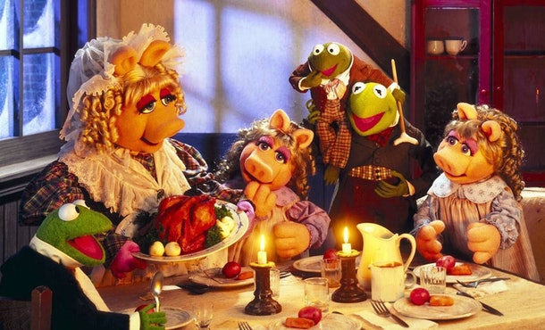 'The Muppet Christmas Carol' put a kid-friendly spin on the classic story.