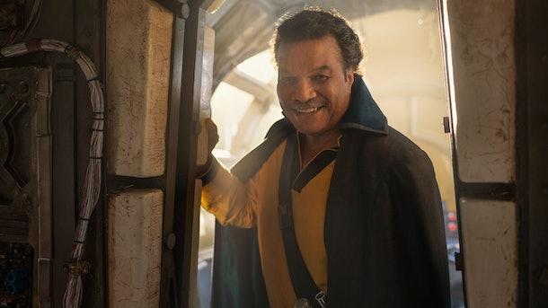 Lando Calrissian in The Rise of Skywalker