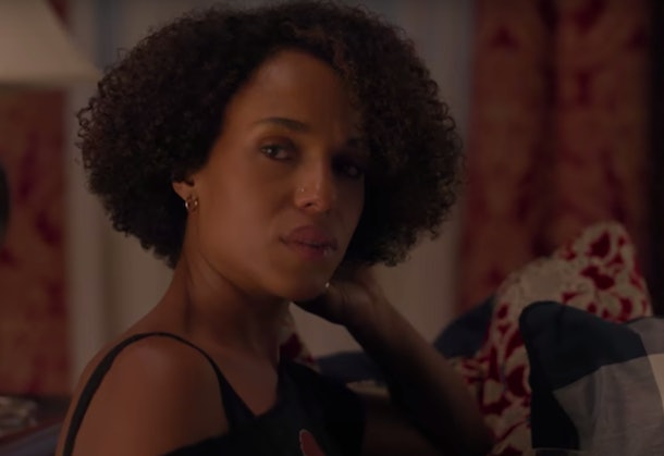 Kerry Washington stars alongside Reese Witherspoon in Hulu's 'Little Fires Everywhere', on screens in 2020