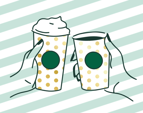Where are Starbucks' Pop-Up Parties? You'll need to check daily to find a participating location near you.