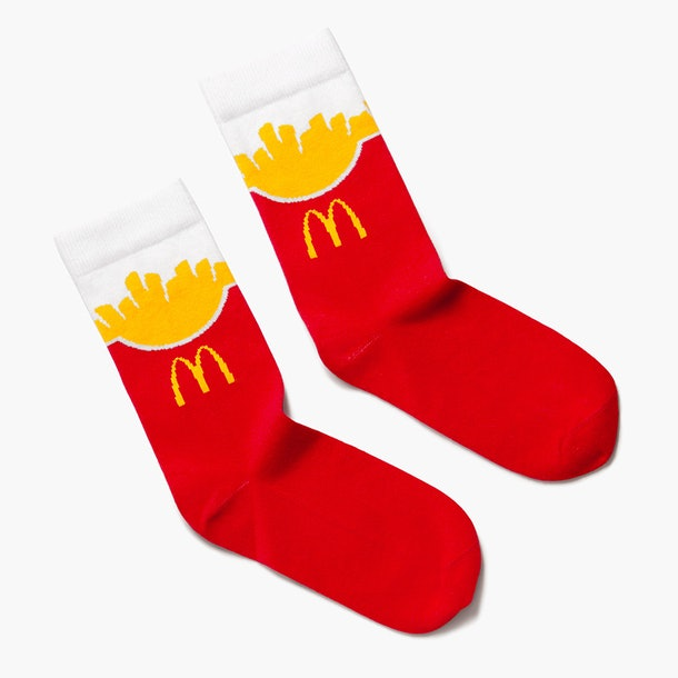 McDonald's Golden Arches Unlimited fry socks