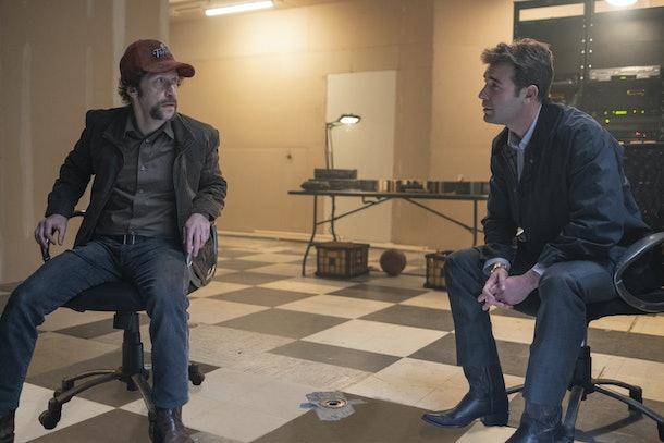 Wade Tillman and Joe Keene in Watchmen