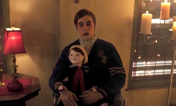 Cheryl's brother Jason and a doll believed to be haunted by Julian on 'Riverdale.'