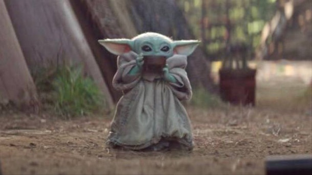 Baby Yoda and his Soup