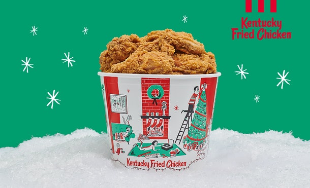 The KFC Firelog That Smells Like Fried Chicken is back and you may be able to win one with the #SecretSanders contest.