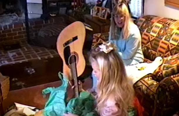 "Taylor Swift's ""Christmas Tree Farm"" video takes you through her childhood."