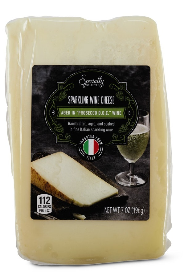 These December 2019 Aldi Finds feature alcohol-infused cheeses.