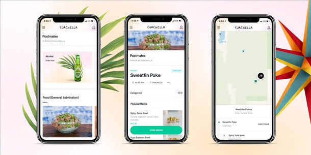 This New Postmates Pickup Festival Feature By Postmates