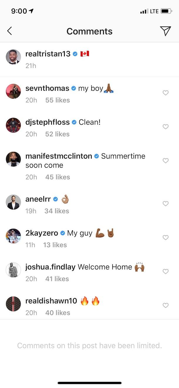 Tristan Thompson S Instagram 1 Year After The Khloe Kardashian Cheating Drama Is So Random