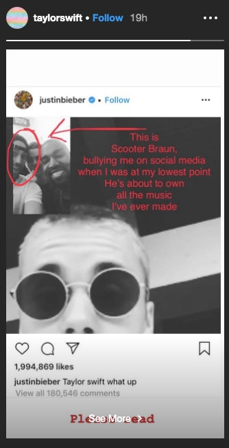 Justin Bieber S Response To Taylor Swift Accusing Him Of Bullying Is Actually Pretty Mature