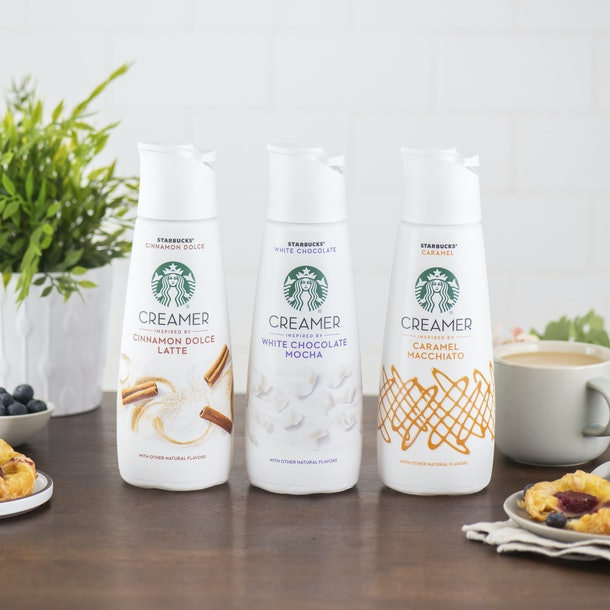 Starbucks' New Coffee Creamers Inspired By Latte Flavors