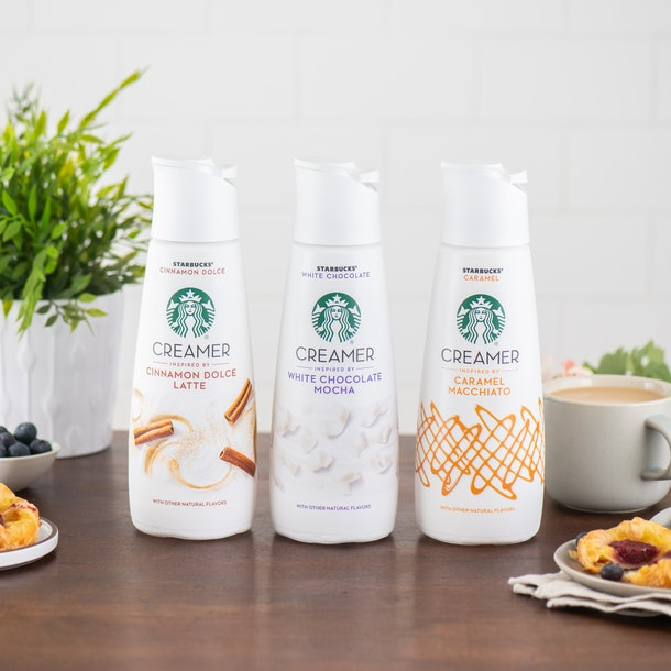 Here's Where To Get Starbucks' Coffee Creamers For An At