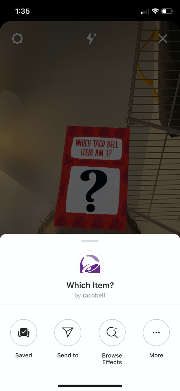 Here's how to get Taco Bell's new AR Instagram filter.