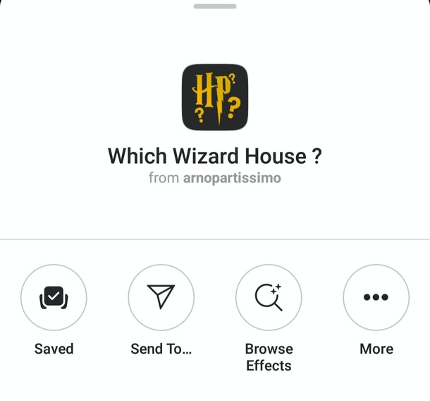 Here's How To Get The 'Harry Potter' Instagram Filters for a magical time. You can find out which character you are, as well as which Hogwarts house you are.