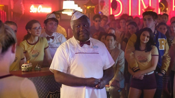 Hilda requests a meal from Pop's diner on 'Chilling Adventures of Sabrina.'
