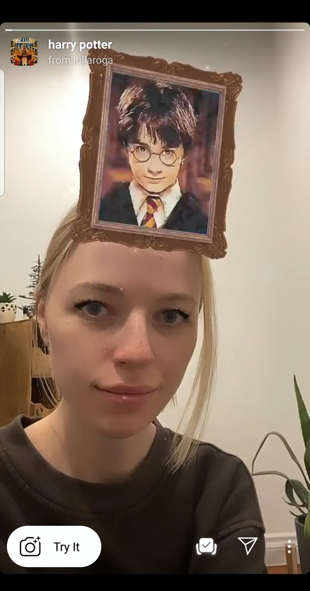 Here's How To Get The 'Harry Potter' Instagram Filters to be sorted into your house and find out which HP character you are.
