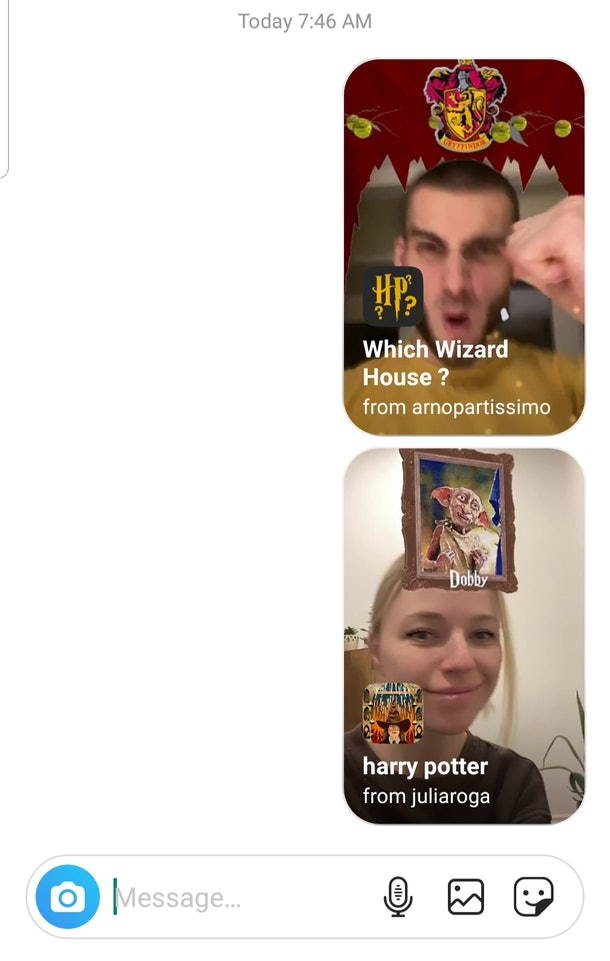 Here's How To Get The 'Harry Potter' Instagram Filters to match with Hermoine, Snape, Harry, or Ron.
