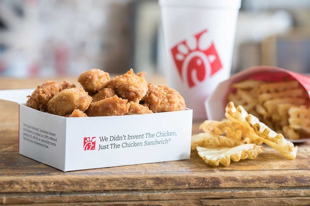Celebrate this January with free Chick-fil-A nuggets.